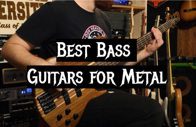 5 Best Bass Guitars for Metal
