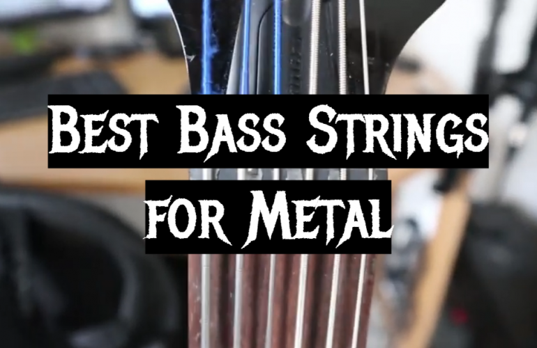 5 Best Bass Strings for Metal