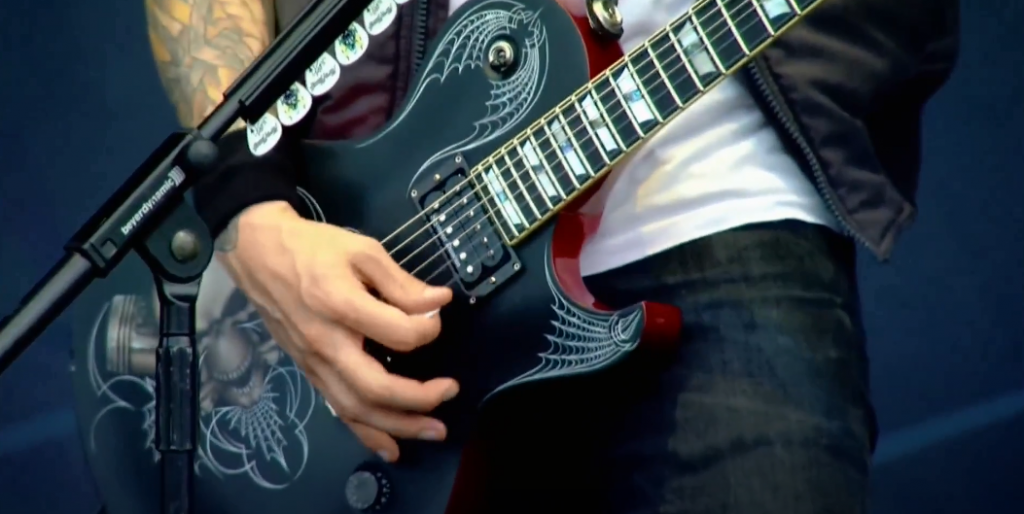 The role of the guitar in metal music