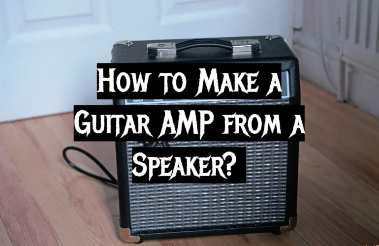 How to Make a Guitar AMP from a Speaker?