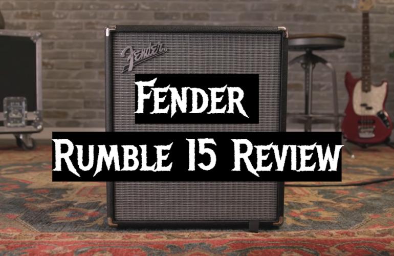 Fender Rumble 15 Review
