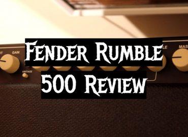 Fender Rumble 500 Review