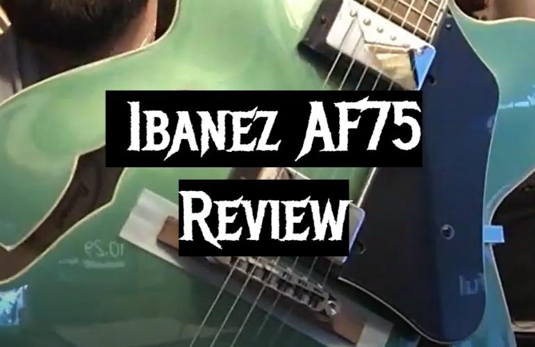 Ibanez AF75 Review