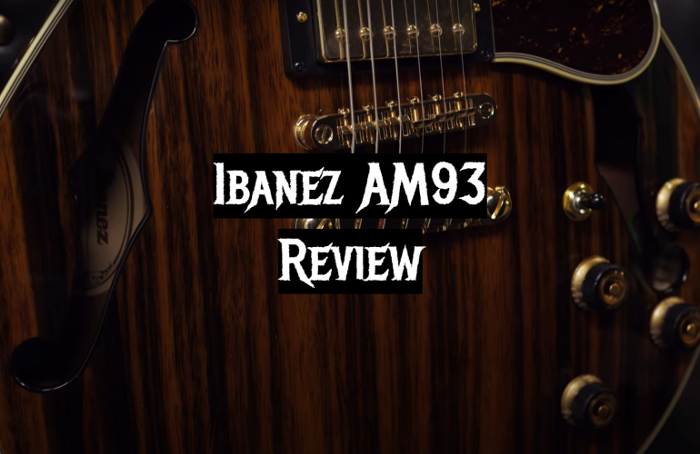 Ibanez AM93 Review