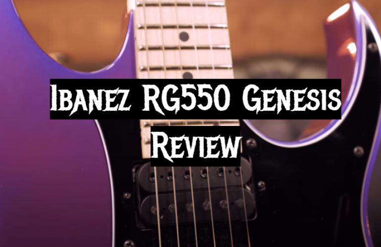Ibanez RG550 Genesis Review